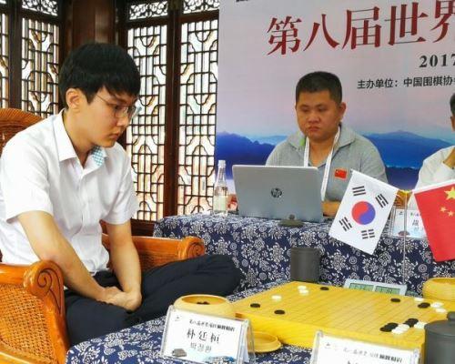 世界围棋巅峰对决中国柯洁完胜韩国朴廷桓
