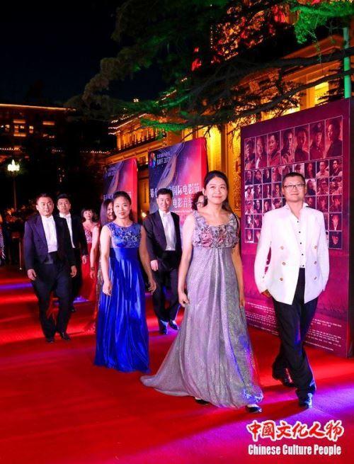 左宏元周倩参加第七届北京国际电影节音乐会